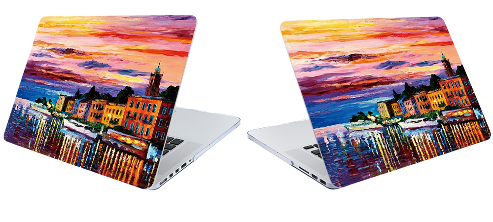 Printing Hard Case For Macbook Air 11 13 inch Pro 13 15 12 Retina Case Bag Matte Customized Cover Oil Shell Touch Bar Design in Laptop Bags Cases from Computer Office