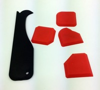 Grouting Smoother 5 Pieces per Set Sealant Trowel and Silicone Scraper by OPP bag Made By Builders Choice Tools Limited