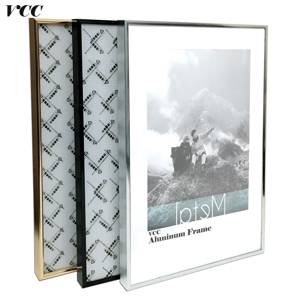 Frame Wall Art Decorative,Classic Super Narrow Aluminum A4 A3 Poster Frame For Wall Hang ...
