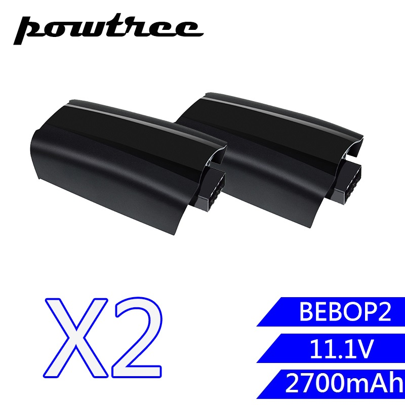 2PACKS 11.1V 2700mAh Li-ion BEBOP2 Rechargeable Battery For Parrot Bebop 2 Drone Quadcopter