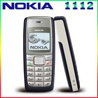 1112 Original Unlocked Nokia 1112 700mAh 2G GSM Refurbished Touchscreen Phone One Year Warranty Free Shipping