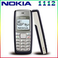 1112 Débloqué Original Nokia 1112 700 mAh 2G GSM Rénové Écran Tactile Téléphone Un an de garantie Livraison Gratuite
