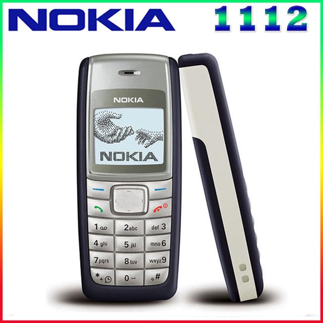 1112 mah 2g gsm reformado abierto original nokia 1112 700 teléfono con pantalla táctil una garantía del año envío gratis