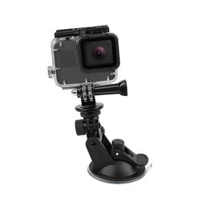 Image 5 - SHOOT GoPro Hero 용 미니 윈드 실드 흡입 컵 9 8 7 6 5 블랙 Sjcam Sj4000 Xiaomi Yi 4K Eken H9 H9r Go Pro Hero 9 8 액세서리