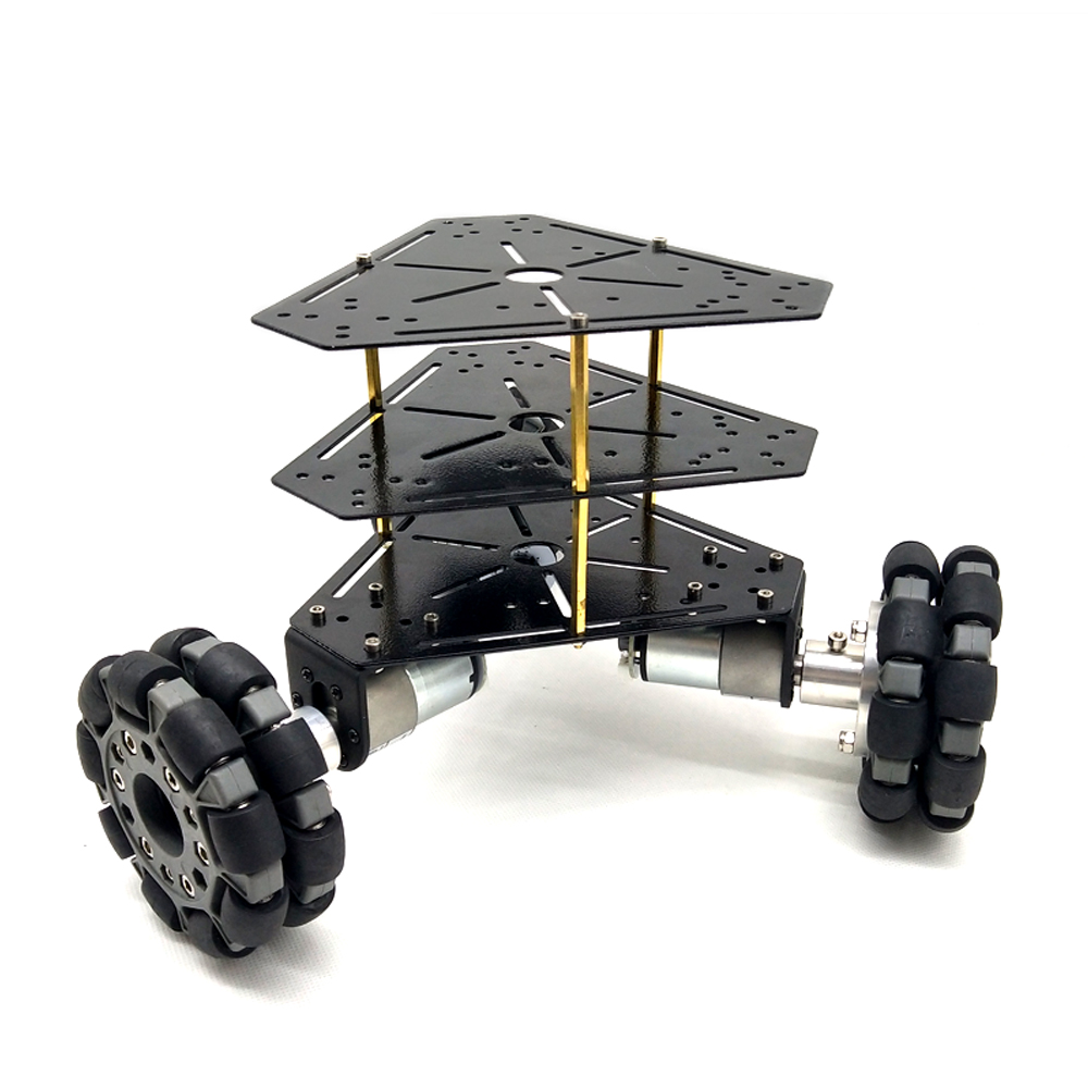 New Arrival MT100S With 100mm Omni Wheels 3 WD Stainless Steel Frame Powerful Motor For DIY
