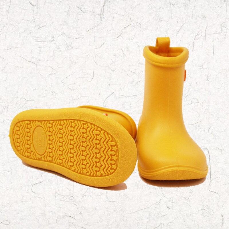 2018 Dwayne New Design Kids Solidne buty przeciwdeszczowe Baby Slip - Obuwie dziecięce - Zdjęcie 5