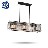 DX кристалл потолочное освещение потолочные светильники для столовой люстры потолочные для зала современный потолочный светильник