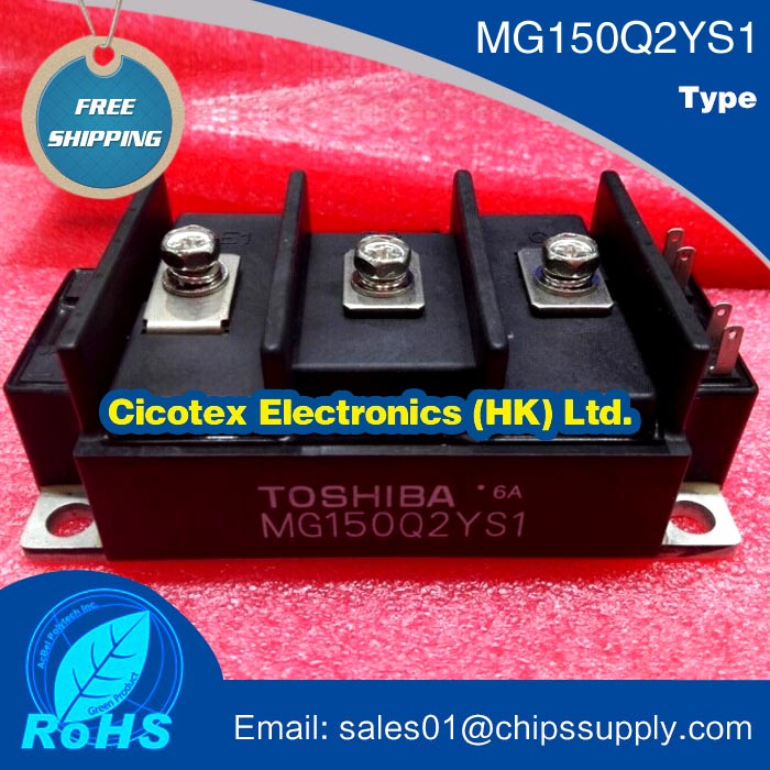 IC 1 pcs MG150Q2YS1, N-CHANNEL IGBT MODULO (150A/1200 V)IC 1 pcs MG150Q2YS1, N-CHANNEL IGBT MODULO (150A/1200 V)