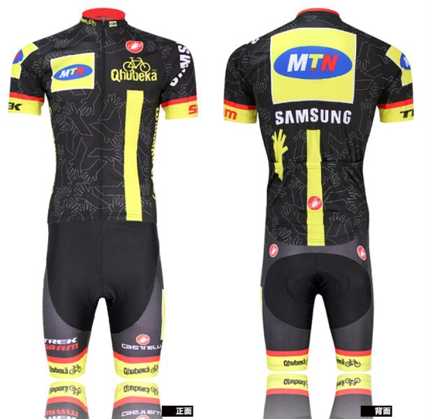 2015 MTN Qhubeka Pro Team Cycling Jersey (BIB) Shorts Bicycle Wear Clothes  Clothing Maillot Ropa Ciclismo roupa bike-in Cycling Jerseys from Sports ... 5fa3d23ed