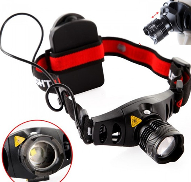 LED Head Flashlight / Lamp – battery operated