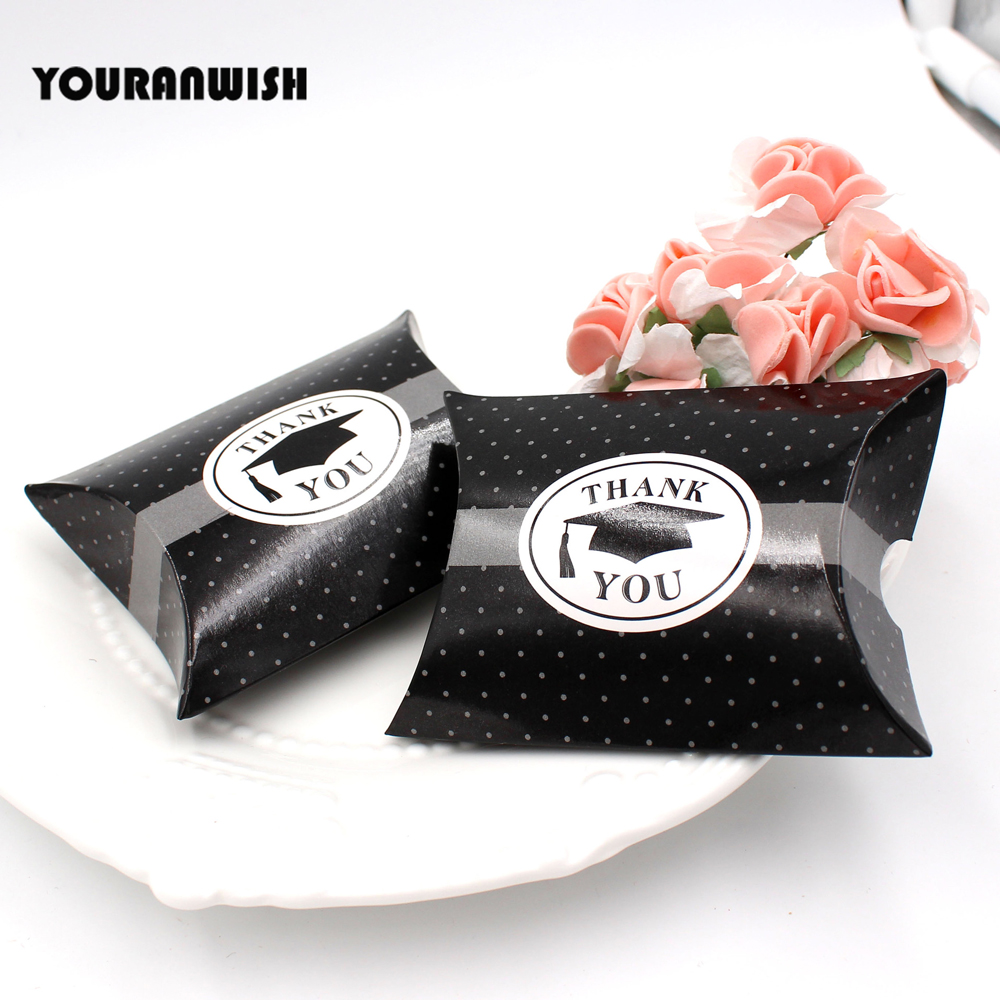 Paper Pillow Candy Boxes Gift Box With Wedding Favor Box Party ...