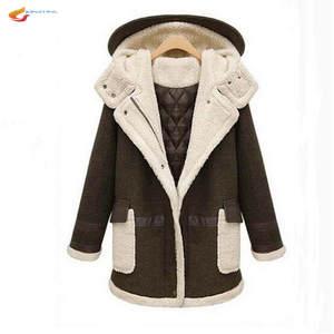 a07a8495d4c JQNZHNL Women Winter Clothing Lambs Wool Thicken Coat