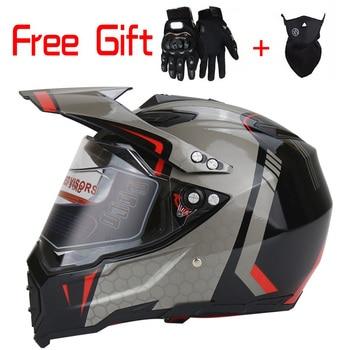 WLT professional motocross helmet adult full helmet casque moto cross with versatile off-road helmets S L M XL capacetes T кофры komine