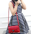 New Fashion women small crossbody bag high quality PU leather handbags brand design lock lattice lady shoulder bags messenger
