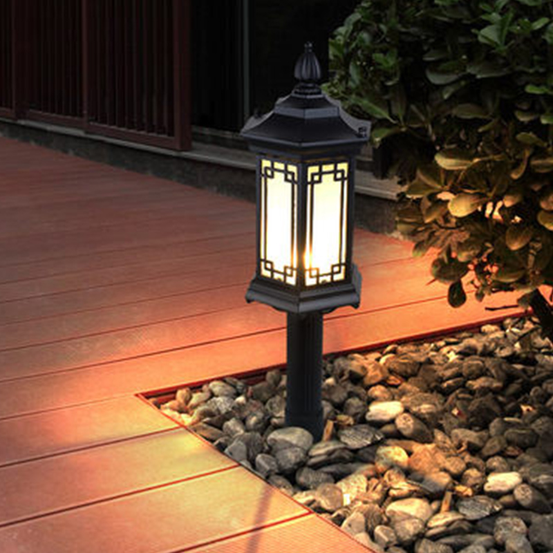 Modern Outdoor Light Chinese Garden Light Waterproof Exterior Villa Light Lawn Light Landscape High Pole Lamp in Outdoor Landscape Lighting from Lights Lighting