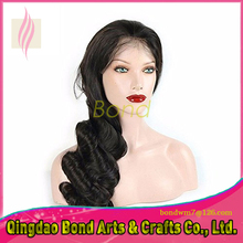 130 Density Brazilian Virgin Hair Glueless Full Lace Wig Natural Color Human Hair Lace Front Wigs Natural Wave Instock