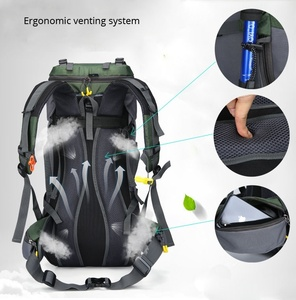 Image 4 - KOKOCAT New 60L Hiking Backpack Sports Outdoor Backpack Mountaineering Bag with Rain Cover Travel Backpack