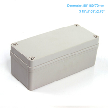 Cheaper sale 2015 widely use  ip66 waterproof electronic box plastic ABS Enclosure 80*180*70mm