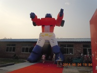 Giant Portable Advertising Item InflatableTransformers Balloon Optimus Prime