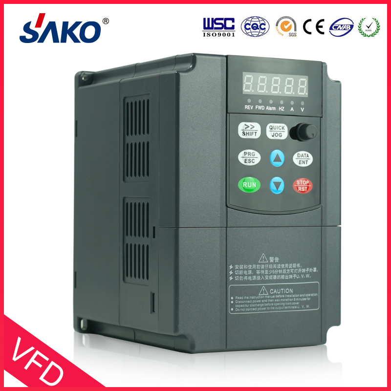 Sako 220V 1.5KW DC Input Solar Photovoltaic Compressed Water Pump Inverter Converter of DC-to-AC Output 3Phase
