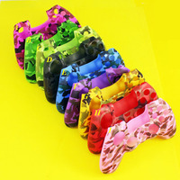 9 Colors Silicone Rubber Camo Protective Skin Case For Sony Dualshock 4 For for PS4 Slim Pro Controller Gamepad