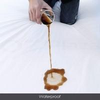 Australiano tamanho terry pano de algodão tecido protetor de colchão Impermeável e respirável Estilo Lençol colcha