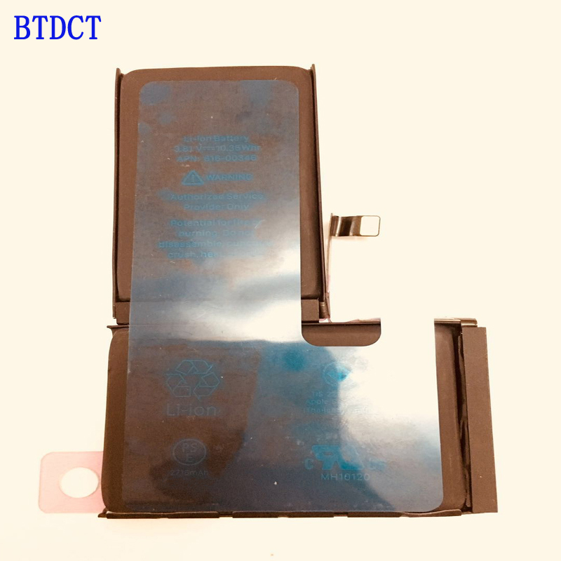 BTDCT Batteries IPhone Replacement For X 2716mah/0/Cycle 100%Test 5pcs/Lot Factory-Direct-Sale