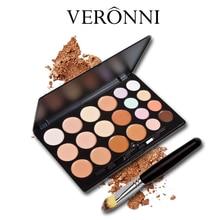 VERONNI New Face Concealer Makeup Palette Base Foundation Bronzer Concealer Contour Pallete Primer Beauty Make Up Cosmetics Set цена