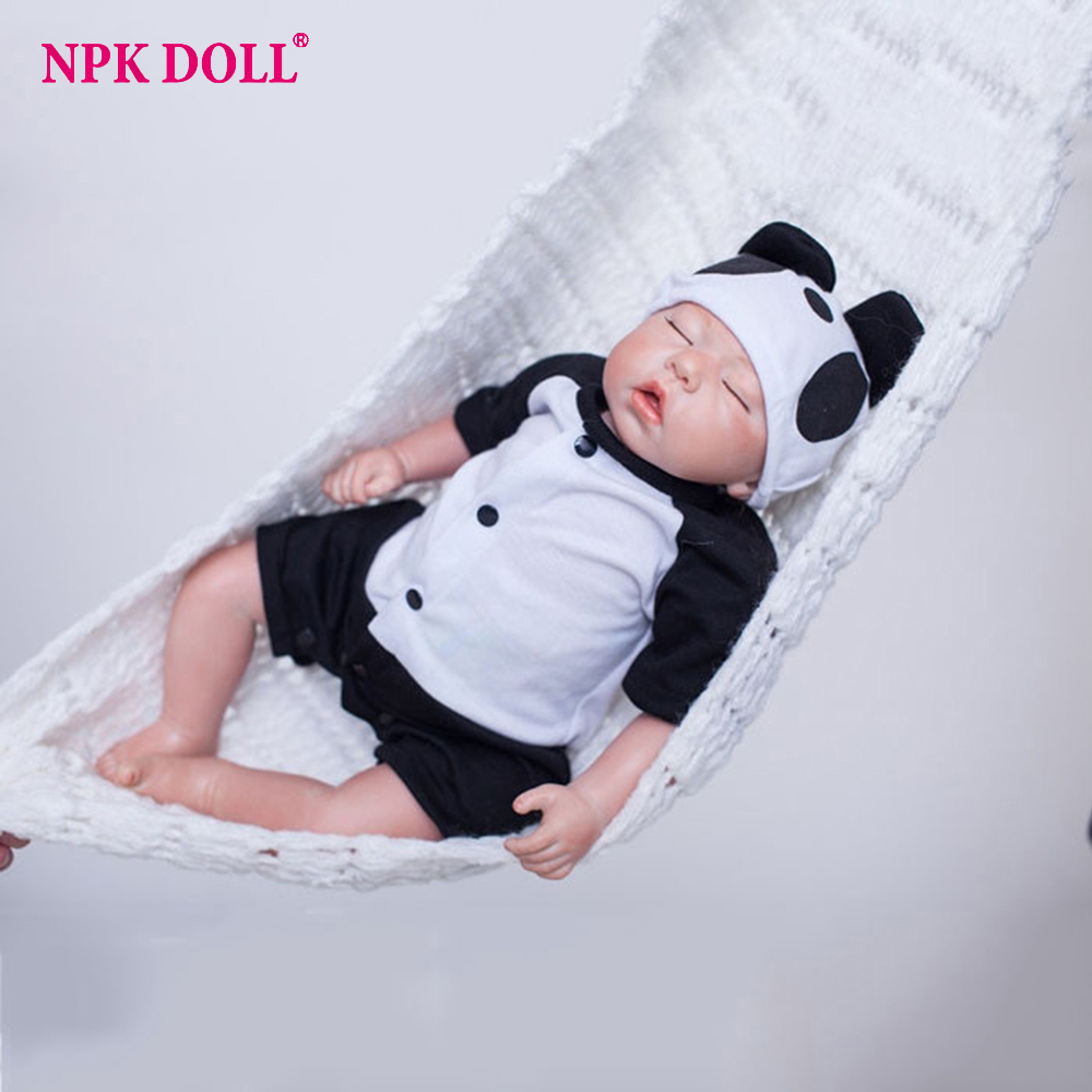 20 inches Doll Reborn Soft Vinyl Kawaii Newborn Baby Dolls For Girls Doll Toy Collection Gift for Kids kawaii baby dolls