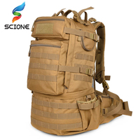 a695c978414 Hot Outdoor Backpack 50l Camping Hiking Backpack Tactical Bag Man Tactical  Military Bag Camouflage Backpack Man