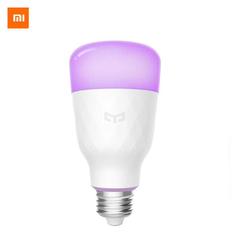 (English Version) Xiaomi Yeelight Smart LED Bulb Colorful 800 Lumens 10W E27 Lemon Smart Lamp For Mi Home App White/RGB Option