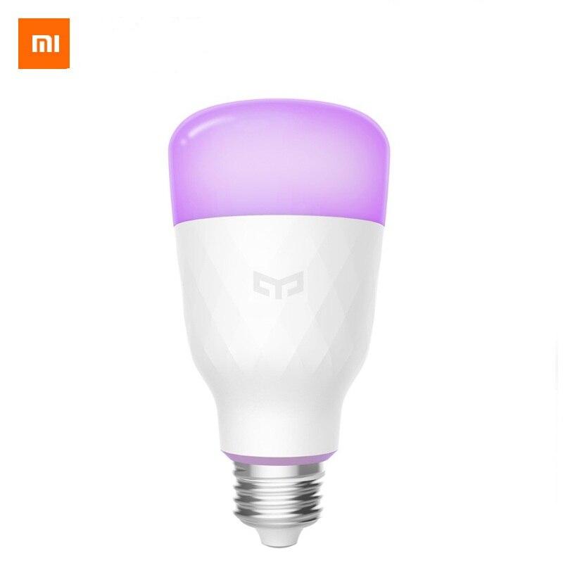(Versión de actualización) xiaomi Yeelight inteligente bombilla LED de 800 lúmenes 10 W E27 limón inteligente lámpara para mi App casa Blanco/ RGB opción