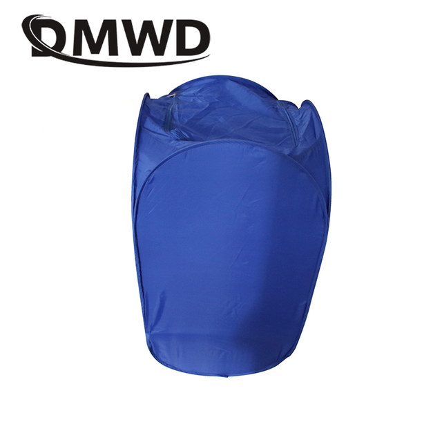 DMWD Mini Portable Garment Dryer Electric Laundry Air Warmer Wardrobe Dehydrator Foldable Baby Clothes Quick Drying Machine Rack 5