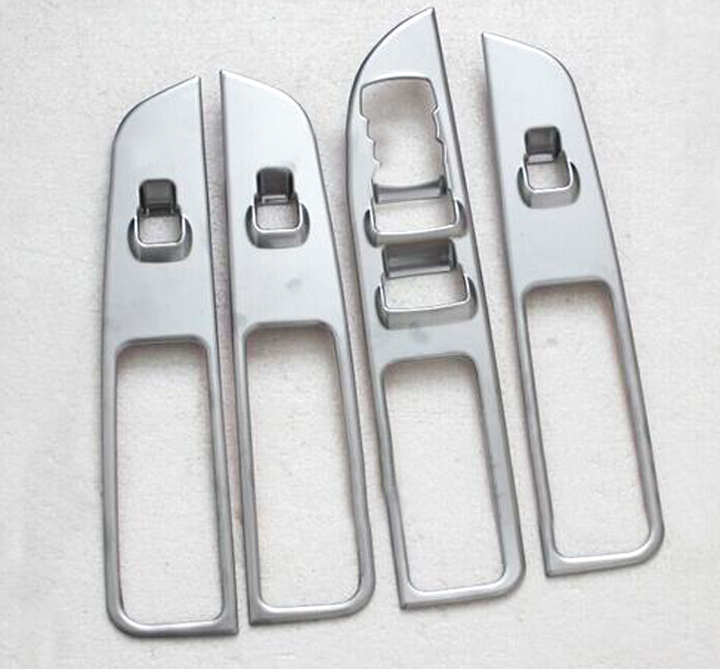 font b Car b font window button control panel cover 4pcs For Ford Explorer 2016