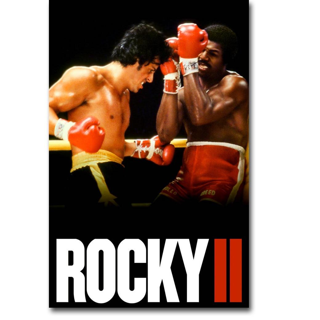 Rocky Balboa Boxeo Arte De Seda Impresión Del Cartel 13x20