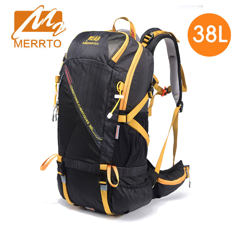 New Nylon Waterproof Travel Hiking Backpack Unisex External Frame High Quality Climbing Bag Outdoor Camping Sports Bag 30L 38L 60l external frame climbing bag waterproof polyester material unisex travel backpack for camping hiking outdoor with rain cover