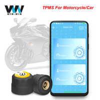 TPMS, Sensor externo para Android IOS TPMS, Sensor de presión de neumáticos tpms, 2 sensores externos