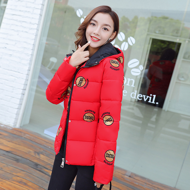 Parks for Women In Winter Jacket for Women Autumn-winter Long Coat Large Fur Collar Down Cotton Women's Clothing Hight Quality winter