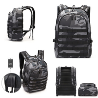 Game PUBG Level 3 Backpack Playerunknown's Battlegrounds Cosplay Prop Multi functional Backpack