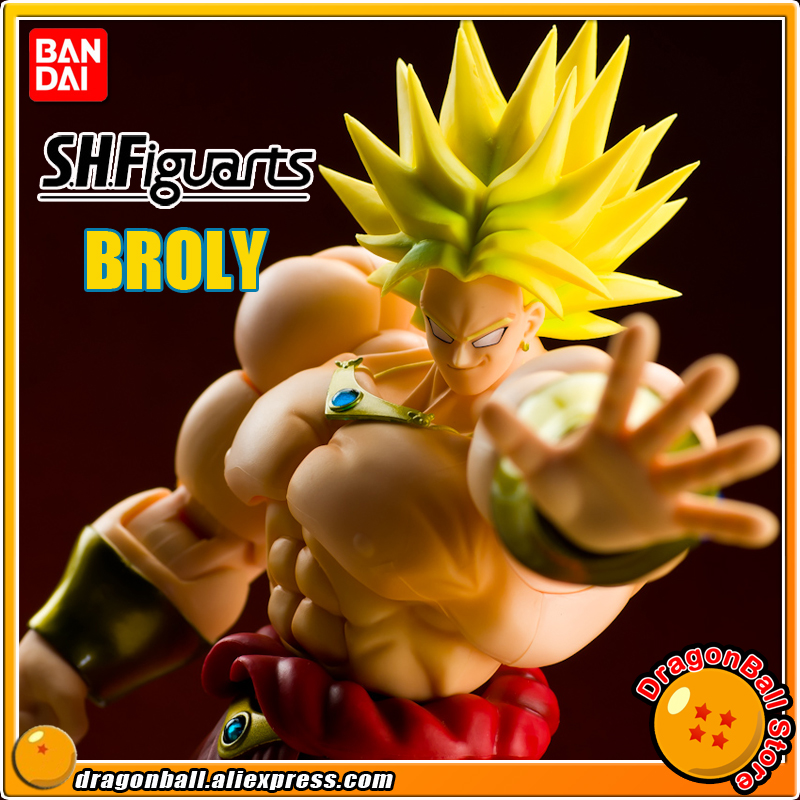 DRAGONBALL Dragon Ball Z/Kai Original BANDAI Tamashii Nations S.H.Figuarts / SHF Exclusive Action Figure - Broly Super Saiyan cmt original bandai tamashii nations s h figuarts shf dragon ball db kid son gokou action figure anime figure pvc toys figure