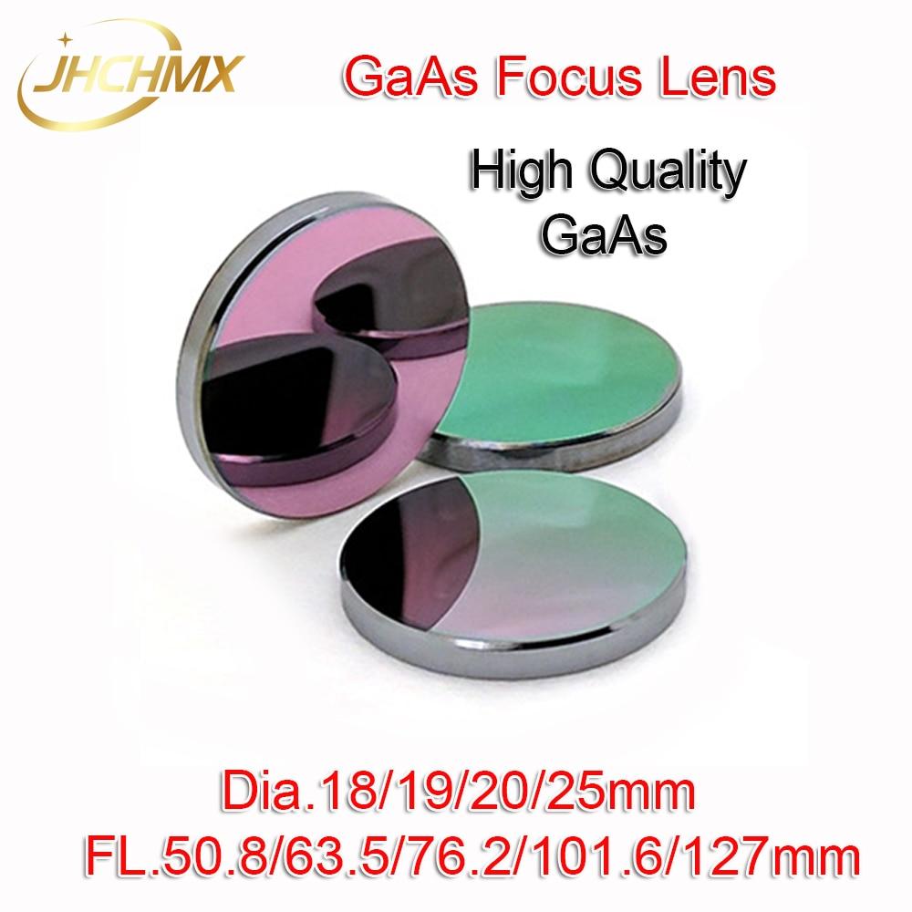 High Quality Co2 GaAs Focus Lens Dia.18/19.05/20/25mm FL.50.8/63.5/76.2/101.6/127mm for CO2 Laser Engraving Cutting Machines high quality 3nd583 laser step driver for co2 laser cutting engraving machines