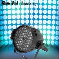Hot sell 54 * 3W Par led dyed plastic 3w flat LED Par RGB Wash wedding decorative studio theatrical DJ Stage lighting