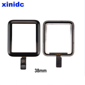 Xinidc Original New Touch Screen Panel Front Glass Lens Digitizer Assembly For Apple Watch 38mm 42mm Series 2 3 Replacement image