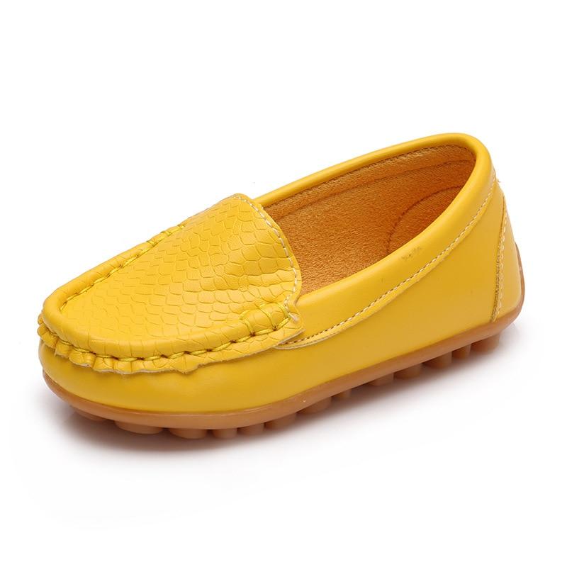 2017 nowych dzieci buty mody slip on skórzane buty chłopiec i - Obuwie dziecięce - Zdjęcie 3