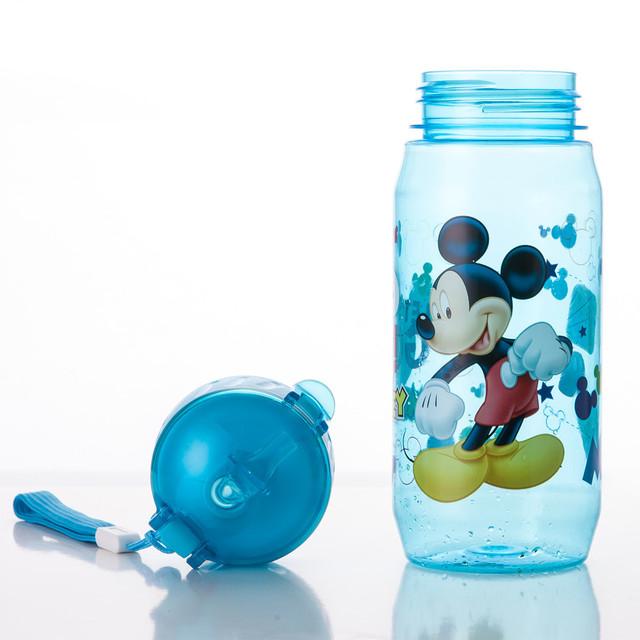 Eco-friendly Kid Kids Drinking Cartoon Water Bottles BPA Free Plastic Straw Bottle Children Bottle Children Kettle Sports Bottle