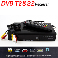 Satellite Receiver DVB T2 DVB S2 Digital DVB T2 DVB S2 Tuner Receivable MPEG4 TV Tuner
