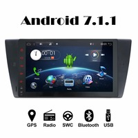 Android 7 11 2G RAM 16G ROM Quad Core 2Din For BMW E90 Fast Boot Car
