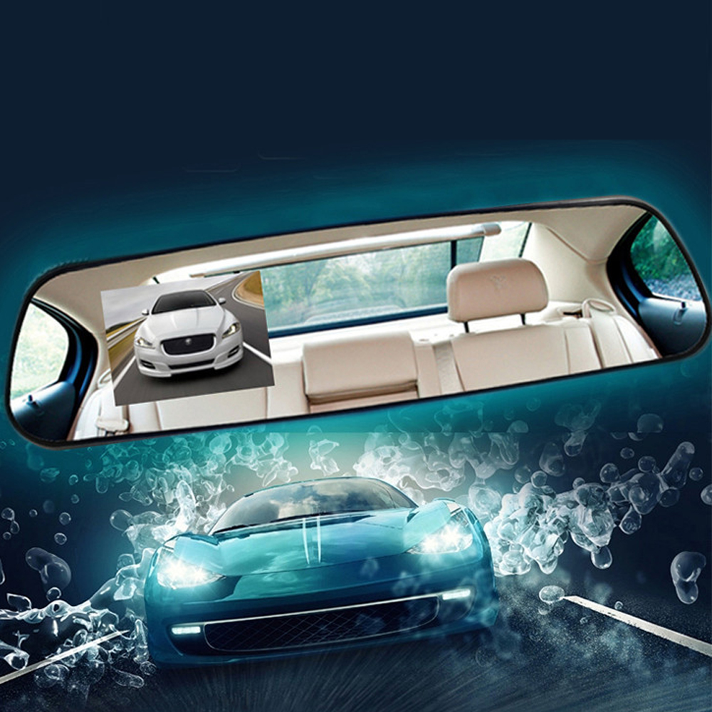 2017 New Hot 2 4 Full HD 1080P Auto Car DVR Rearview Mirrors G Sensor font