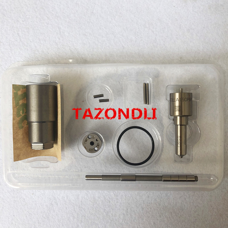 Good quality  common rail injector repair kits for 095000 5600.1465A041 include DLLA145P870-in Fuel Injector from Automobiles & Motorcycles    1