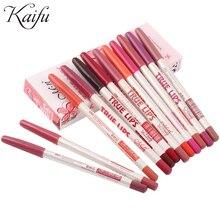 Цветов/комплект длительное губы губ карандаш профессиональный макияж инструменты шт./лот водонепроницаемый см
